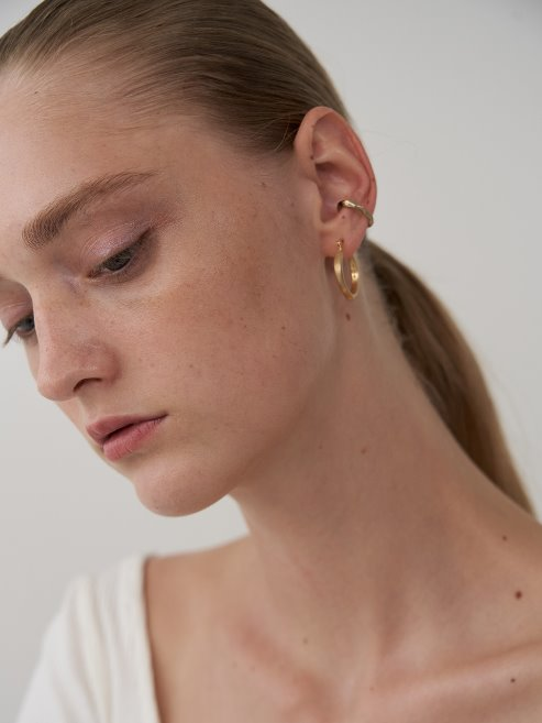 Thorn earcuff (14K Gold plated)